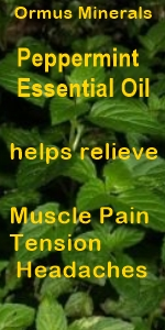 Ormus Minerals - Magnesium Oil Roll On for Muscle Pain with Peppermint Essential Oil